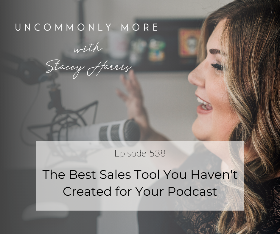 podcast sales tool