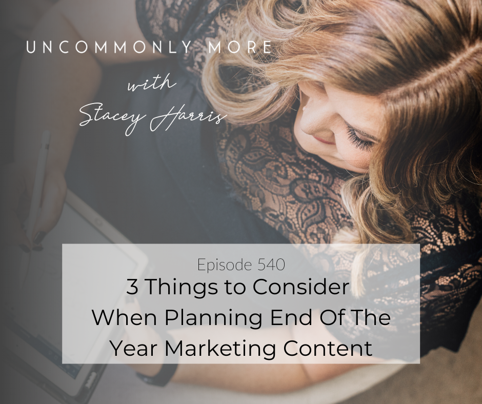 3 Things to Consider When Planning End Of The Year Marketing Content