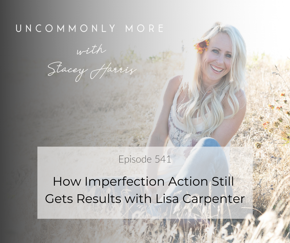 How Imperfection Action Still Gets Results with Lisa Carpenter